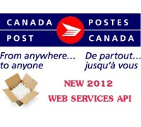 Canada Post WebService Live Rates (2012)