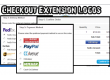 Checkout Extension Logos (Payment, Shipping, Order Total)