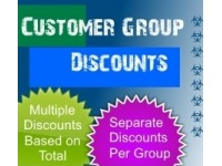 Customer Group Discount (1.5.x/2.x.x)