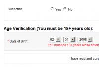 [1.5.x] Age Verification