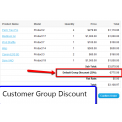 [1.5.x] Customer Group Discount