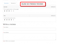 Inline SEO Friendly Reviews (1.5.x/2.x)