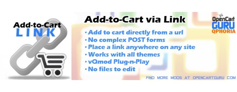 Add-to-Cart via Link