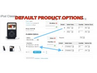 Default Product Options