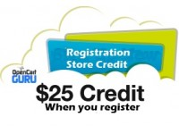 Registration Store Credit