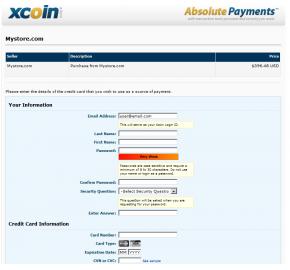 [1.5.x] XCoin.com Payment Integration